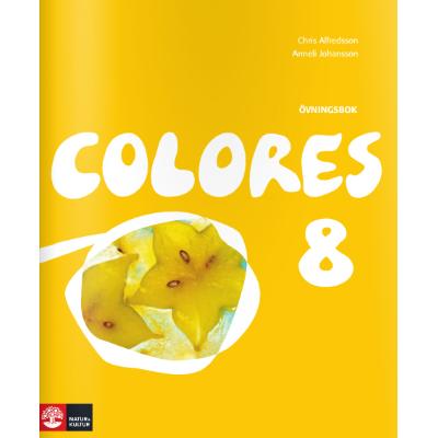 Colores 8 Ovningsbok - Tryckt form