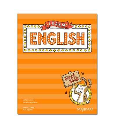Learn English First Book grundbok åk 1.