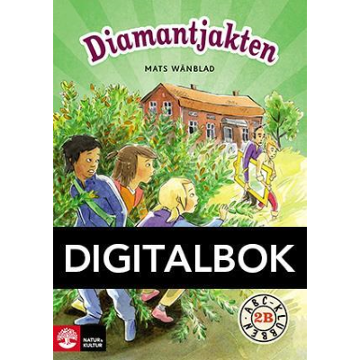 ABC-klubben åk 2 Diamantjakten Läsebok B Digital.
