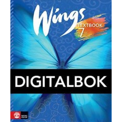 Omslagsbild Wings 7 textbook digital