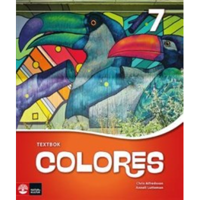 Omslagsbild Colores 7 Textbok