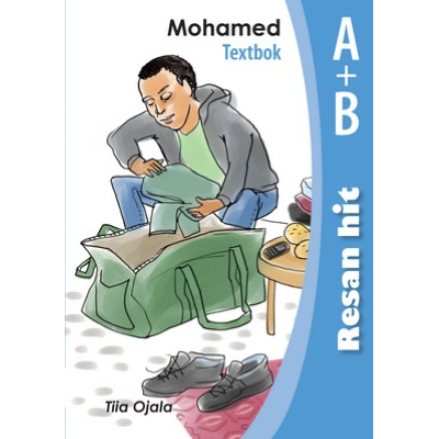 Omslagsbild Resan hit - Mohamed Textbok A-B