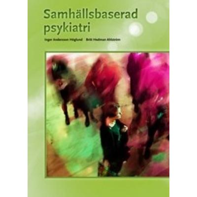 Omslagsbild Samhällsbaserad psykiatri