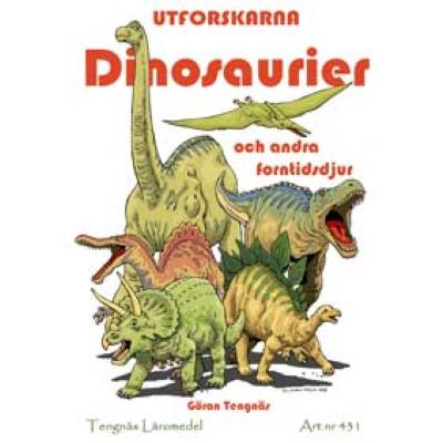 Dinosaurier Och Andra Forntidsdjur Kopieringsunderlag Hitta