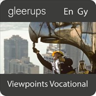 Omslagsbild Gleerups Viewpoints Vocational Digitalt läromedel elevbok