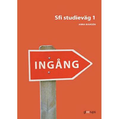 Omslagsbild Ingång Sfi Studieväg 1 Övningsbok