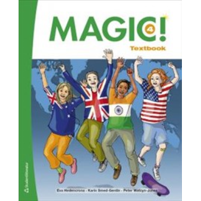 Omslagsbild Magic! 4 Textbook Elevpaket (Bok + digital produkt)