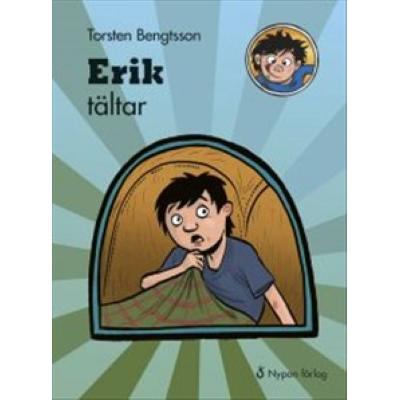 Omslagsbild Erik tältar