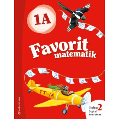 Favorit matematik 1A Elevpaket Digitalt + Tryckt Hitta