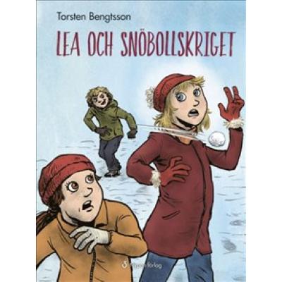 Omslagsbild Lea och snöbollskriget