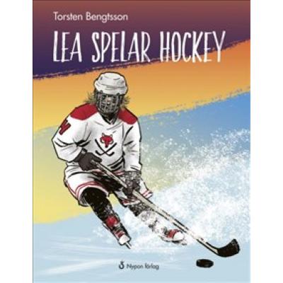 Omslagsbild Lea spelar hockey