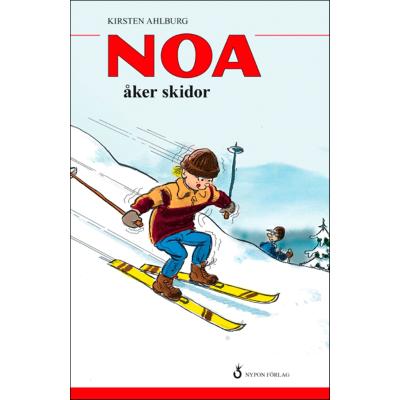 Omslagsbild Noa åker skidor