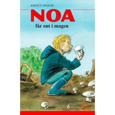 Omslagsbild Noa får ont i magen