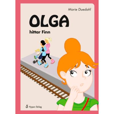 Omslagsbild Olga hittar Finn