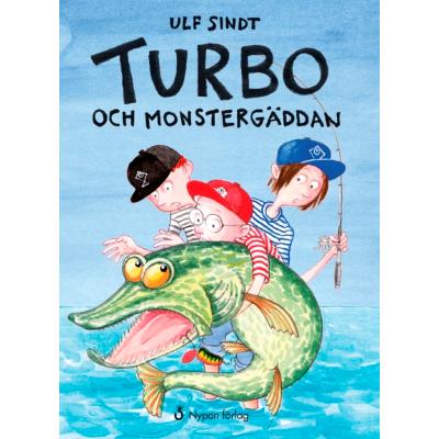Omslagsbild Turbo och monstergäddan
