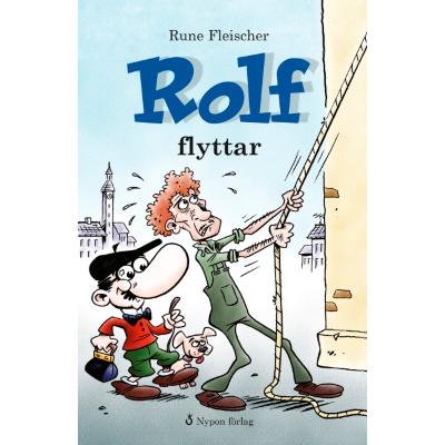 Omslagsbild Rolf flyttar