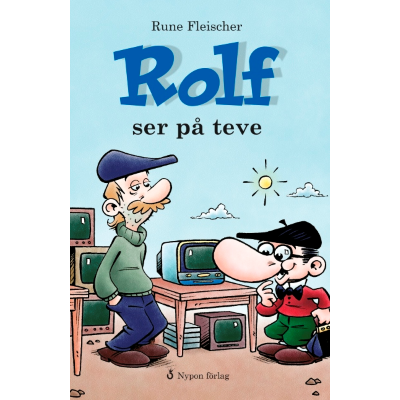 Omslagsbild Rolf ser på teve